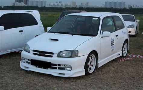 Toyota Glanza Toyota Starlet Glanza V 1999 Toyota Starlet Review
