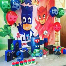 pj masks birthday theme pj masks birthdays cakes jello cups