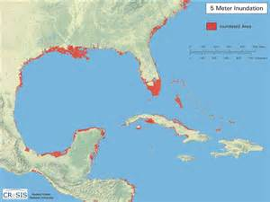 sea level rise modeling with gis a small s