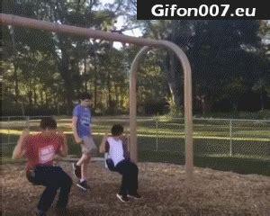 gif 191 rope swing fail gif gifs funny gifon007 eu