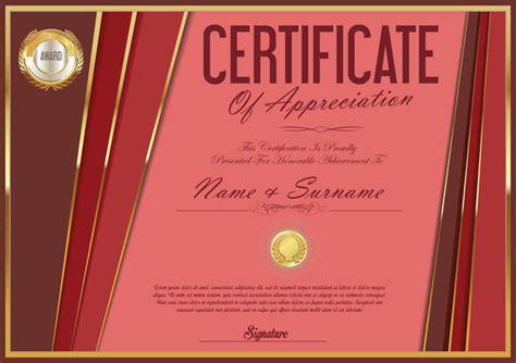 certificate design golden luxury certificate template golden vector 02 vector