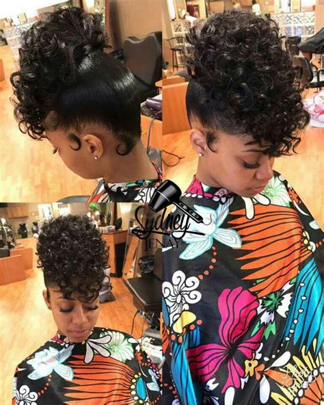 curly prom pin ups for black women ponytail w hair on curly hair on top ponytail w curly