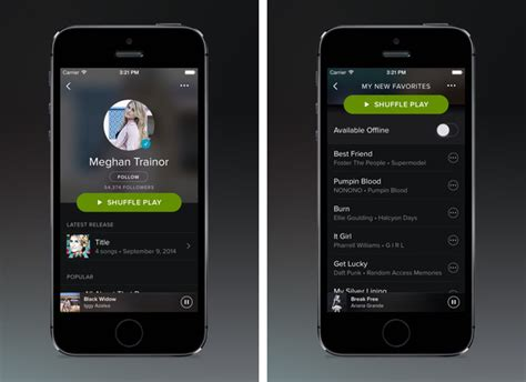 spotify full version ios spotify adds carplay support in latest ios update mac rumors