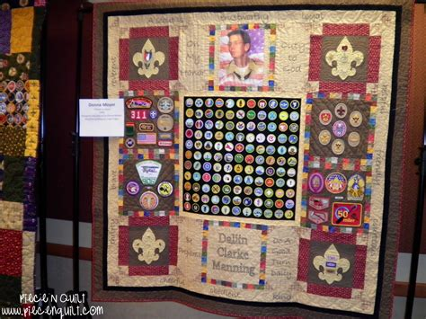 Quilt Displays by N Quilt Boy Scouts Of America Quilt Display
