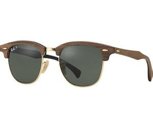 Ban Clubmaster Sonnenbrille 184 by Ban Clubmaster Wood Rb3016m Ab 166 41