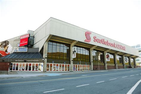 bank of scotia bank of scotia rebranded scotiabank centre opens