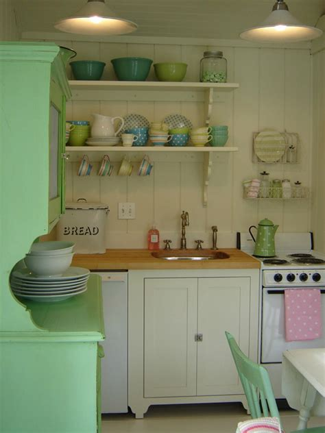 kitchens with shelves green 20 country kitchens with character decoholic