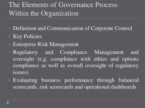 Mba In Insurance And Risk Management Salary by Governance Risk And Compliance Framework