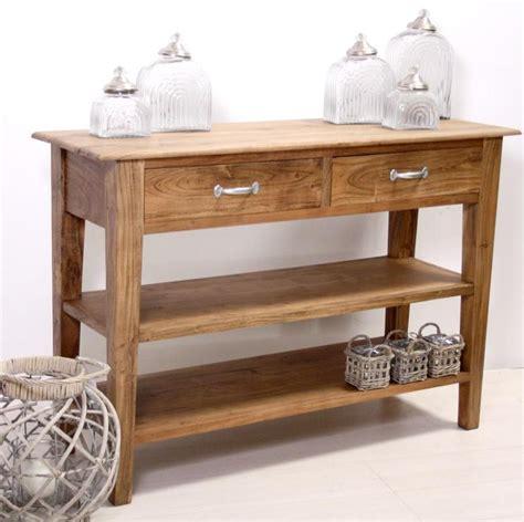 console per ingresso consolle in legno naturale mobili ingresso etnici