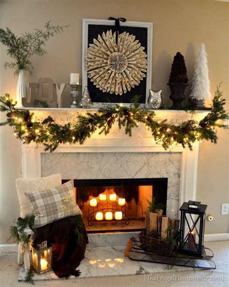 fireplace garland ideas 119 best garland mantel ideas images on