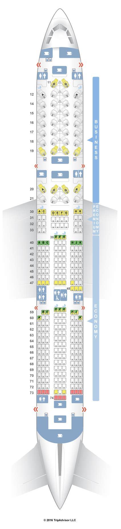 cathay pacific premium economy seat map seatguru seat map cathay pacific airbus a350 900 35g