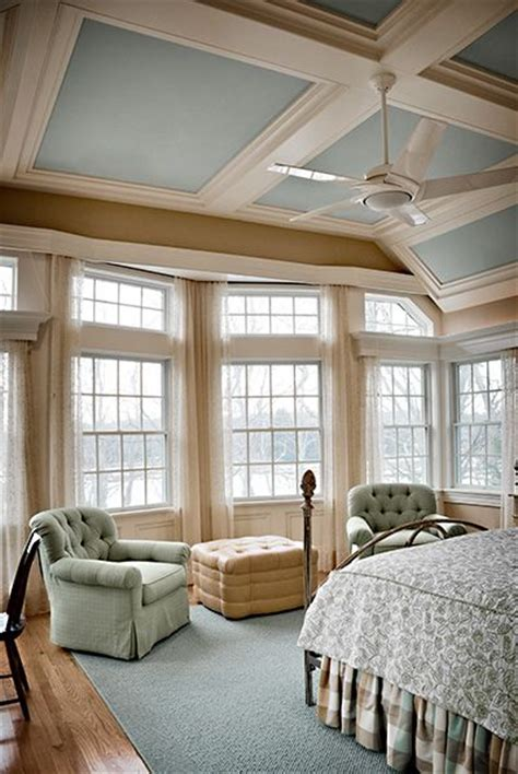 coffered walls love the colors in the coffered ceiling and the wall of