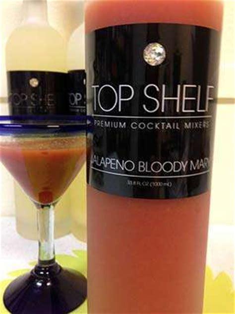 Bloody Mix Shelf by Top Shelf Premium Cocktail Mixers Gluten Free Jalapeno