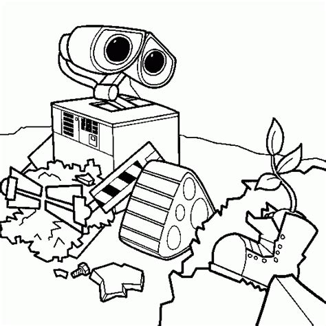 Wall E Coloring Pages by Wall E Coloring Pages