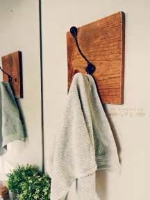Contemporary Coat Hooks diy towel racks for a chic bathroom update