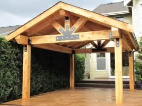 Wooden Patio Cover Designs Patio Covers Dr Decks Builds Custom Deckorators Wolf Clubhouse Timbertech Azek Trex