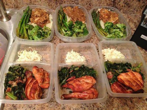 food prep meals week 1 meal prep pictures