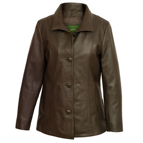 ladies brown leather biker angie brown ladies leather jacket hidepark
