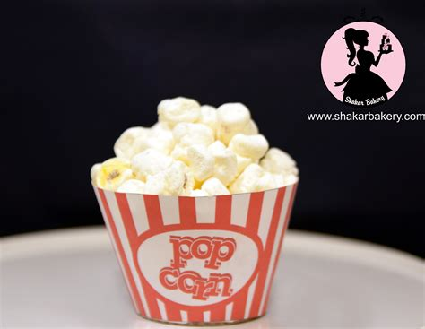 How To Make Popcorn Out Of Paper - how to make popcorn cupcakes using mini marshmallows