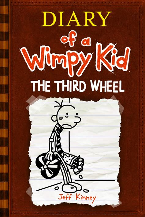 diary of a wimpy kid the third wheel book report diary of a wimpy kid the third wheel cover by ict1099 on