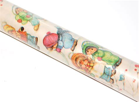 wrapping paper roll crafts 1970 80s papercraft jumbo roll of wrapping
