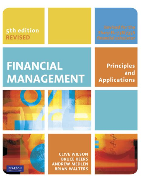 Financial Management Textbooks Mba by Financial Management Revised 5th Wilson Keers Medlen
