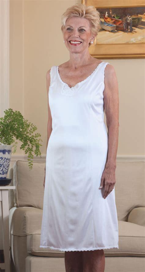women wear nylon slips image nylon wide strap slip buck buck