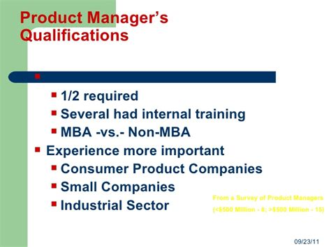 Mba General Vs by Prod Mgmt Overview