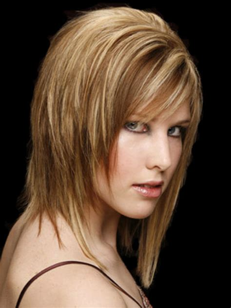 images front and back choppy med lengh hairstyles choppy layered medium length haircuts hairstyle for