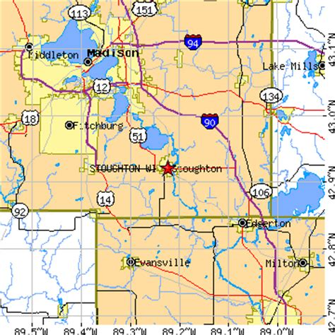 Cottage Grove Wisconsin Zip Code by Stoughton Wisconsin Wi Population Data Races