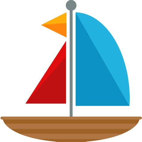 sailboat icon free sailing boat free transport icons