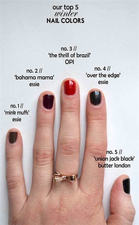 professional nail colors winter 2014 trendy winter nail colors you must try this winter to look