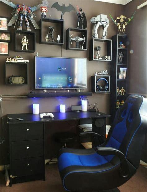 pc gaming room design quarto gamer 60 ideias e dicas incr 237 veis para decorar