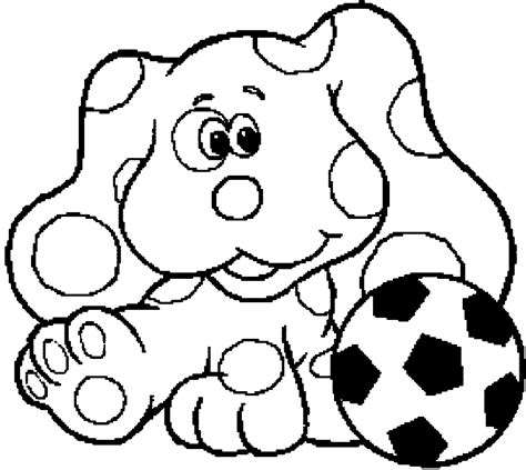 blues clues coloring pages blue s clues coloring pages wecoloringpage