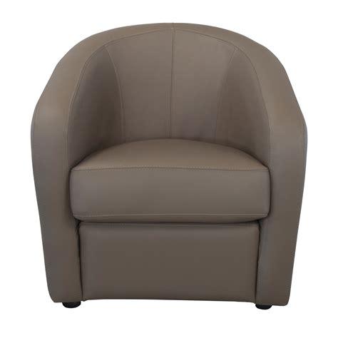 Délicieux Coussin Salon De Jardin #2: CFC2963039-0101-2250-p00-fauteuil-cabriolet-cuir-avec-coussin-dassise-dehoussable-ponza.jpg