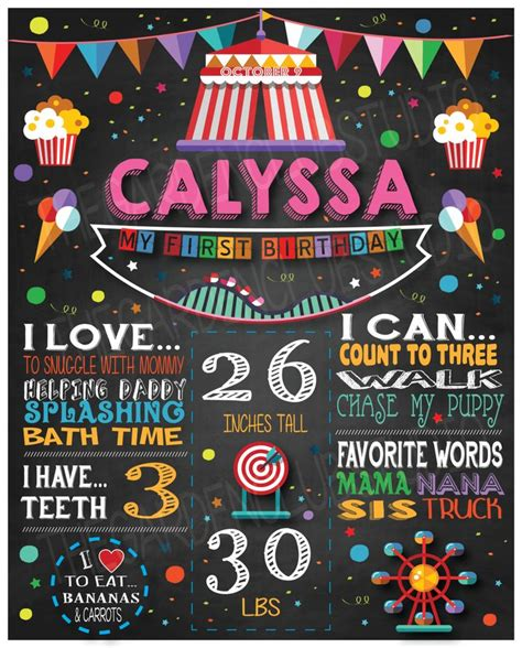 electronic age chalkboard sign chalkboard menu signs by personalize customized chalkboard milestone carnival fair