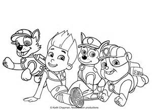 rubble paw patrol coloring page rocky and rubble coloring page