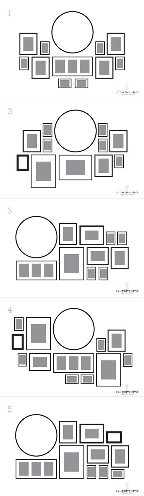 gallery wall layout 57 ideas to decorate walls with pictures shelterness