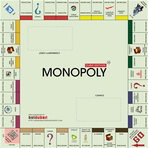 monopoly board template monopoly board template pdf www imgkid the image