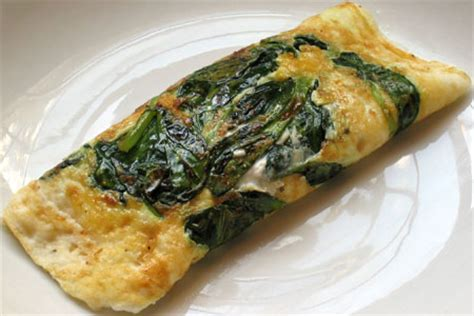 cottage cheese omelette egg white omelet with spinach and cottage cheese sweet