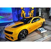 NYIAS 2011 Camaro Bumblebee As Seen In Transformers 3 Live Photos