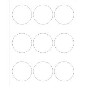 adobe illustrator label template templates glossy print to the edge labels 9 per