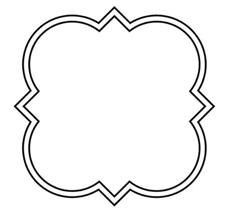 Free Quatrefoil Shape Cliparts Download Free Clip Art