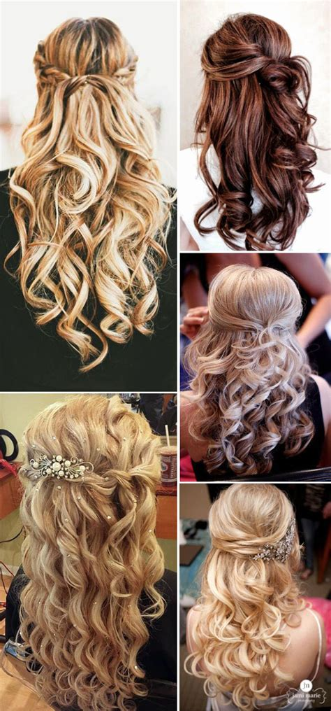 Hairstyle For A Wedding by Trubridal Wedding 20 Awesome Half Up Half