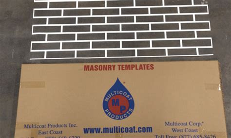 masonry stucco concrete decorative templates and patterns
