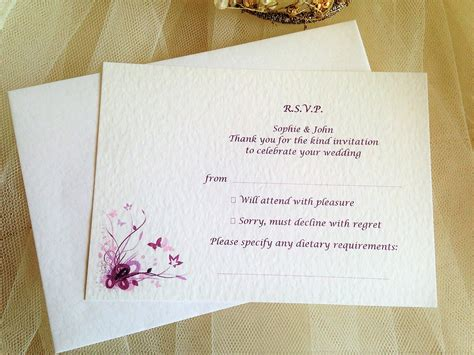 anatomy of a wedding invitation the response card fresh paper