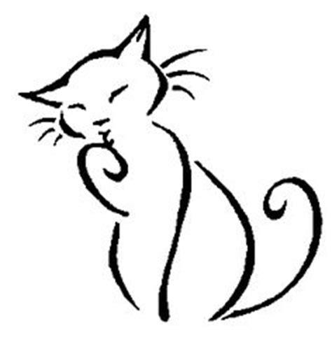 cat tattoo line drawing simple cat tattoo cute tattoo design tattoos i like but