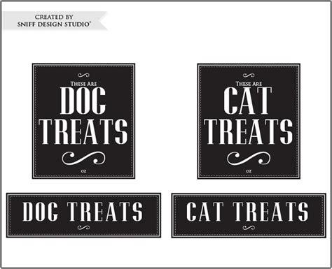treat label template friday freebie vintage cat treat label designs sniff design studio