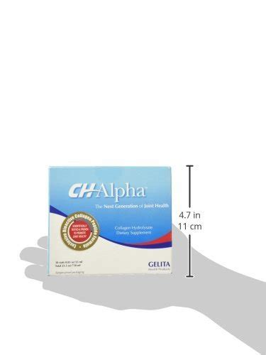 Alpha Collagen ch alpha chalpha joint health collagen hydrolysate supplement 30ct 2 boxes health and