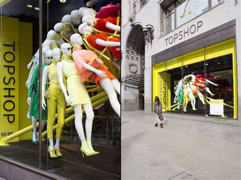 color wheel for visual merchandising the window lane topshop windows by neon architects studioxag london